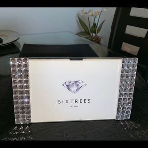 Other - Sixtrees 💎 Crystal 5x7 Picture Frame 🖼